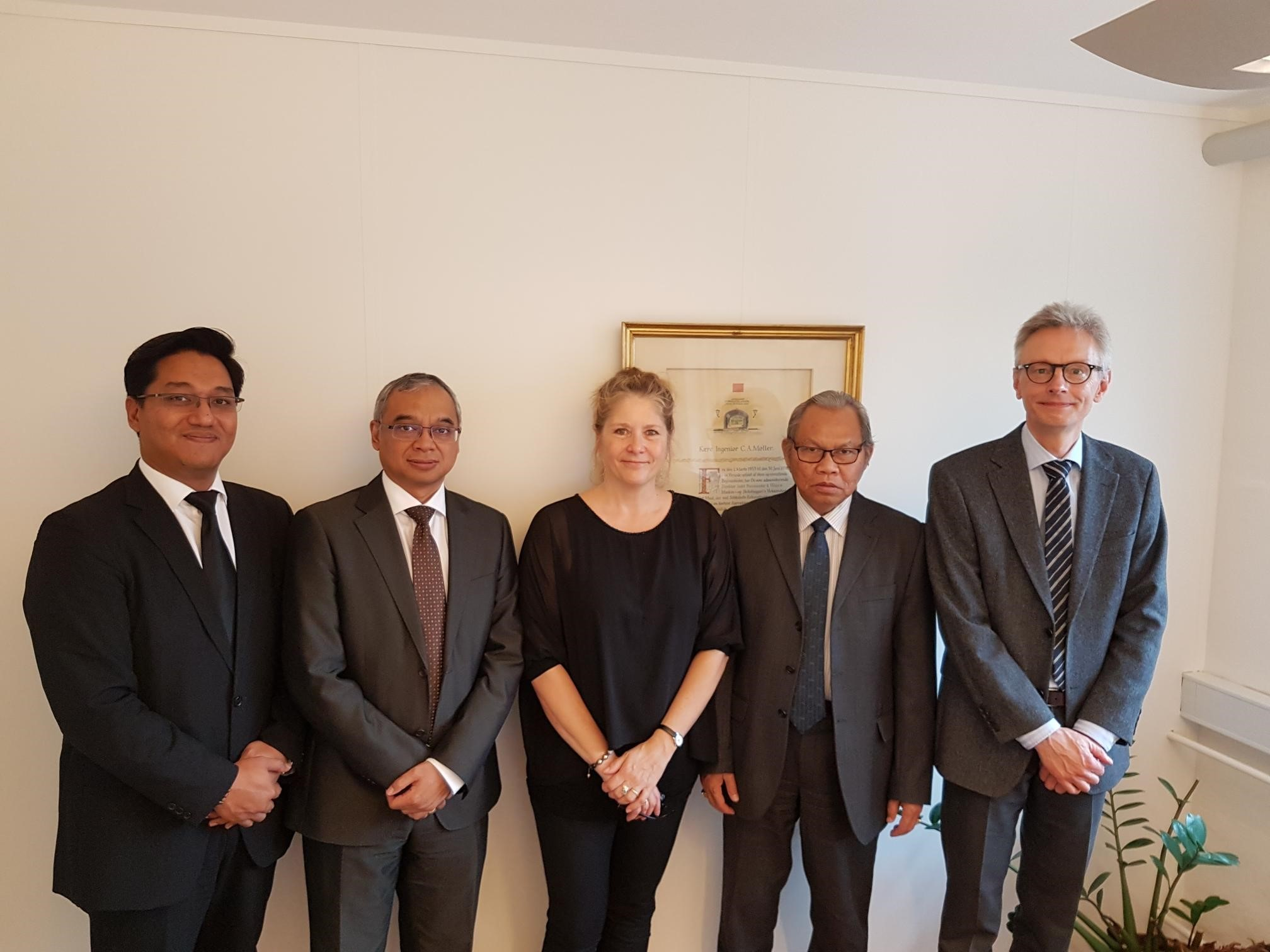 Visit indonesisk ambassadør Muhammad Ibnu Said